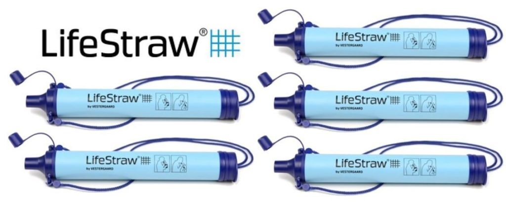 LifeStraw personal water filter for zombie survival