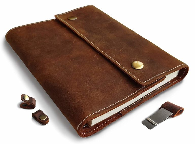 best refillable leather journal