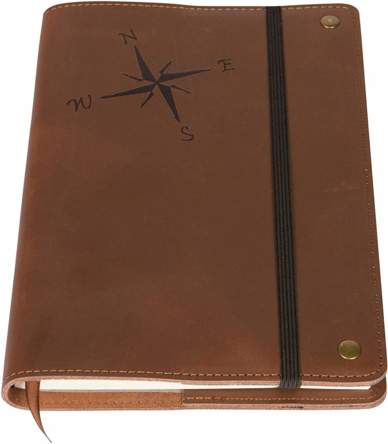 best real leather journal for hikers