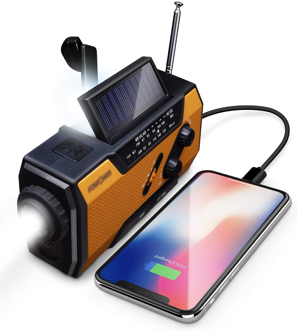 best solar crank NOAA weather radio
