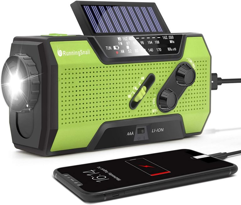 best emergency weather radio with crank