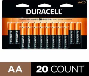 stock up on batteries for coronavirus pandemic