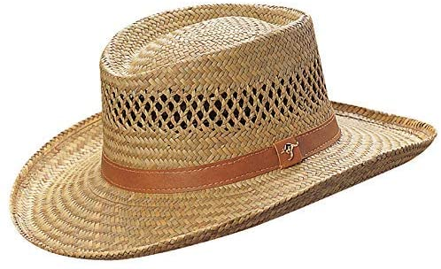 best gambler straw hat