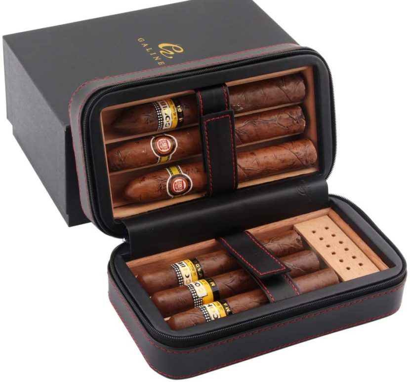 best cigar humidor travel case
