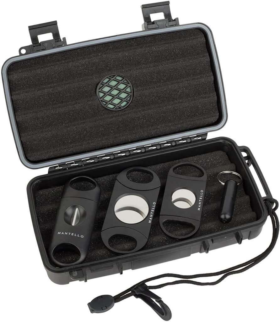 best cigar travel humidor gift set for under $25