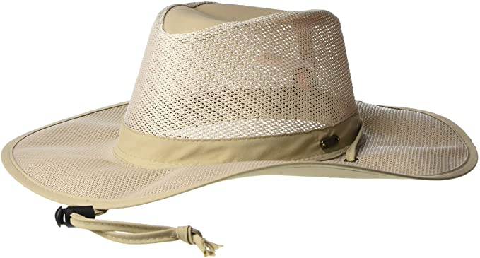 best mesh big brim hat with insect repellant