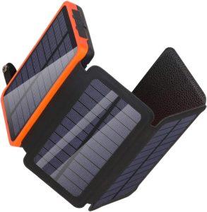 best hiking solar power charging bank