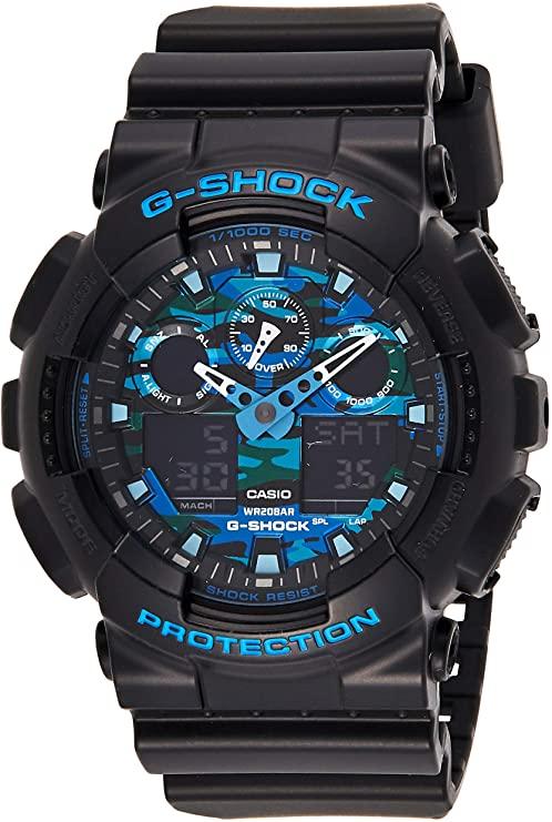 best camo dial G-Shock GA100CB-1A