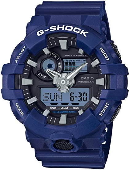 Blue G-Shock GA-700
