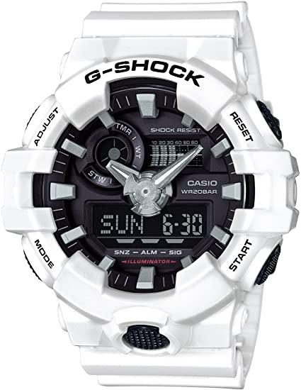 white GA-700 G-Shock