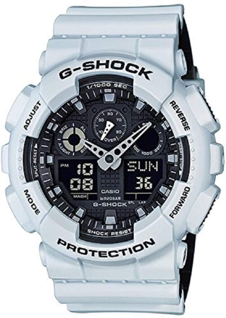 best white G-Shock for military