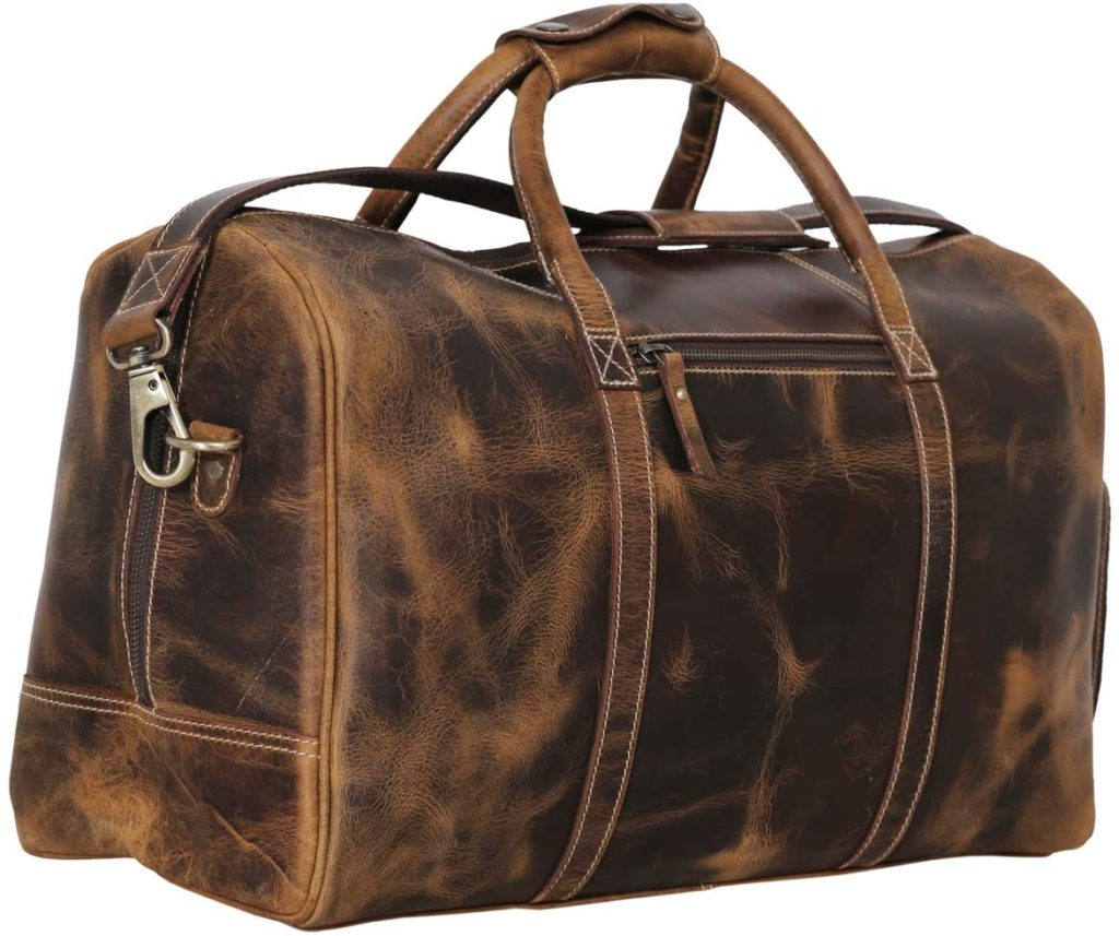 best leather duffel bags for weekend trips