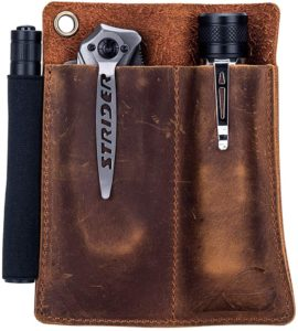 best EDC leather pocket organizers