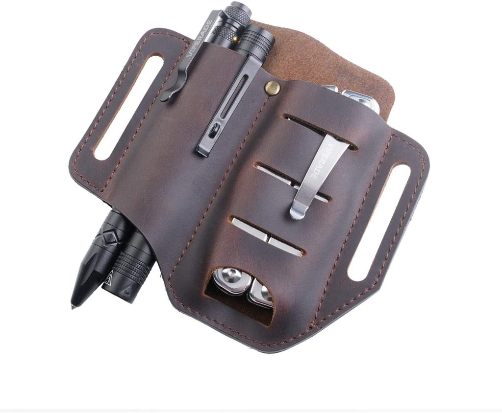 best leather EDC belt organizer for tools