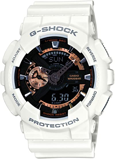 best g shock white and gold