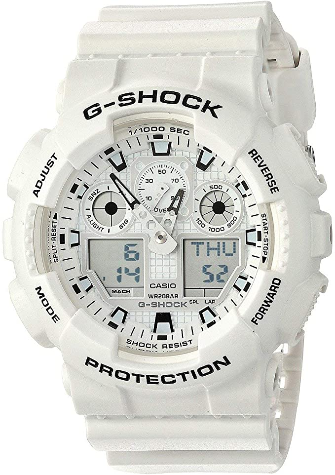 best white out g shock