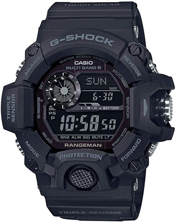 black G-Shock Rangeman watch