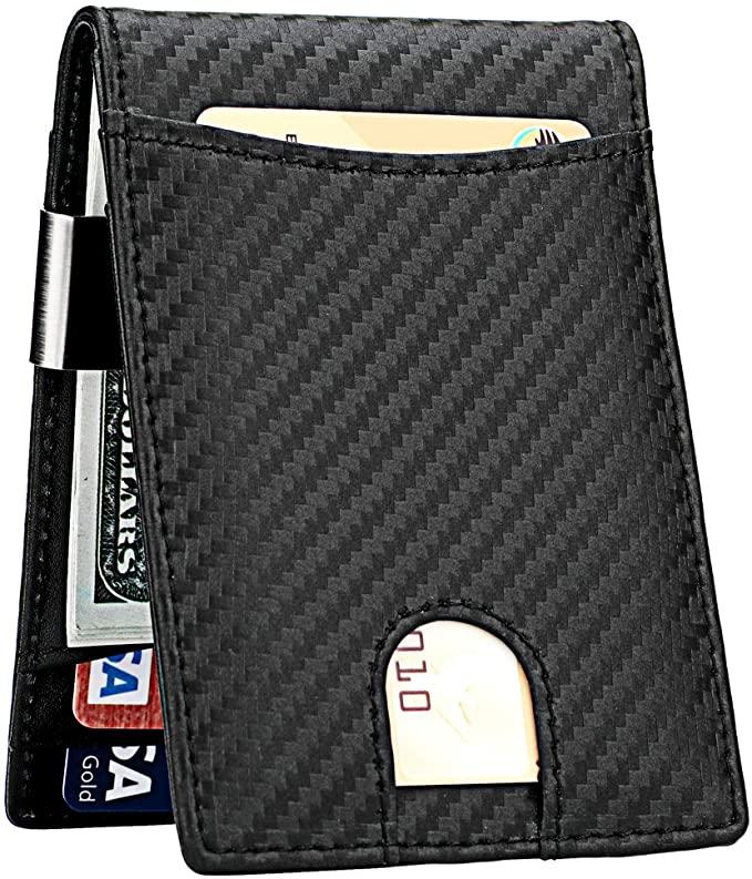 best carbon fiber money clip wallet