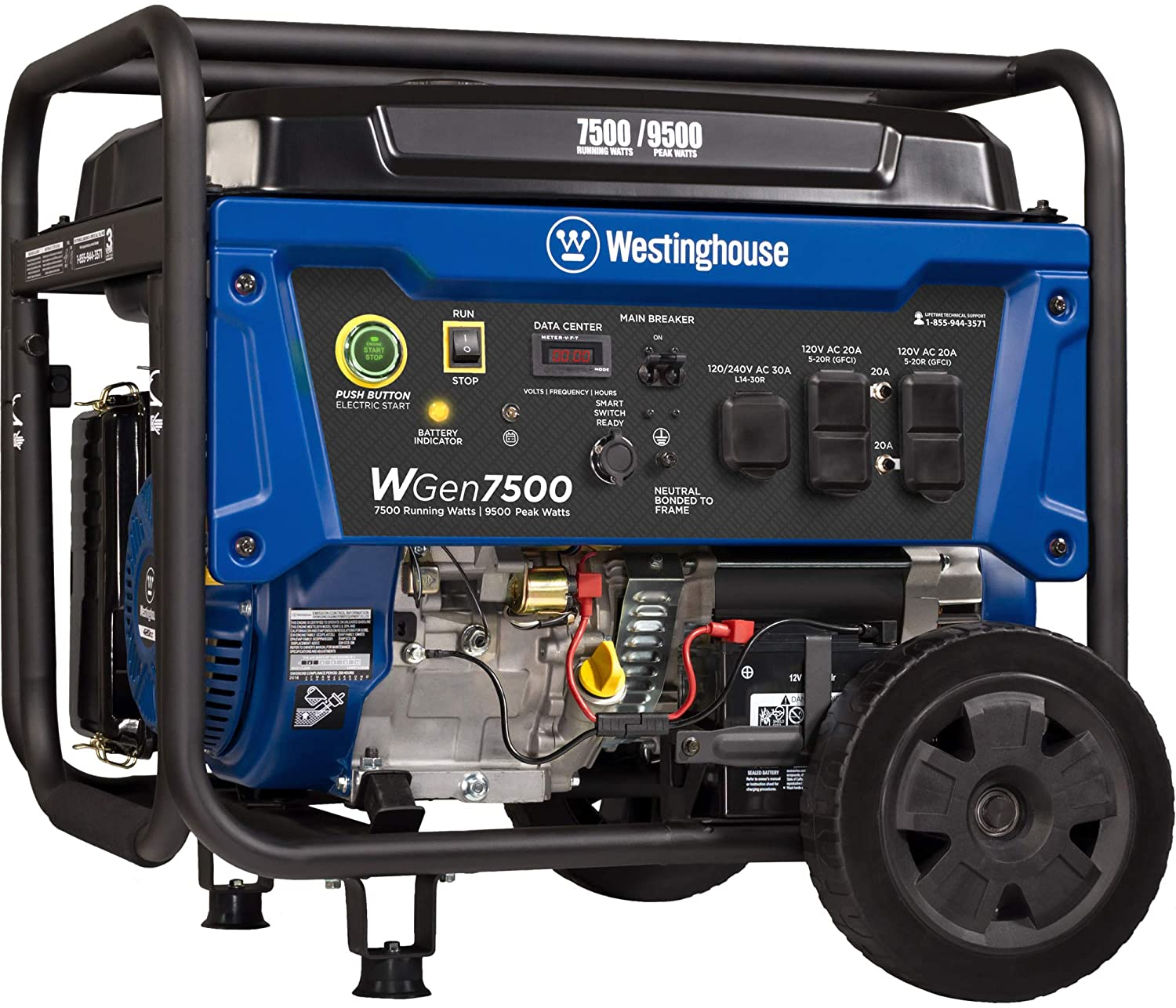 best portable generator with remote start