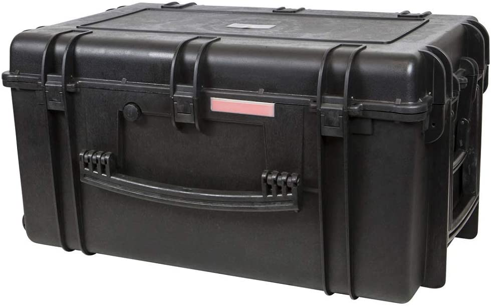 best large waterproof hard case with wheels