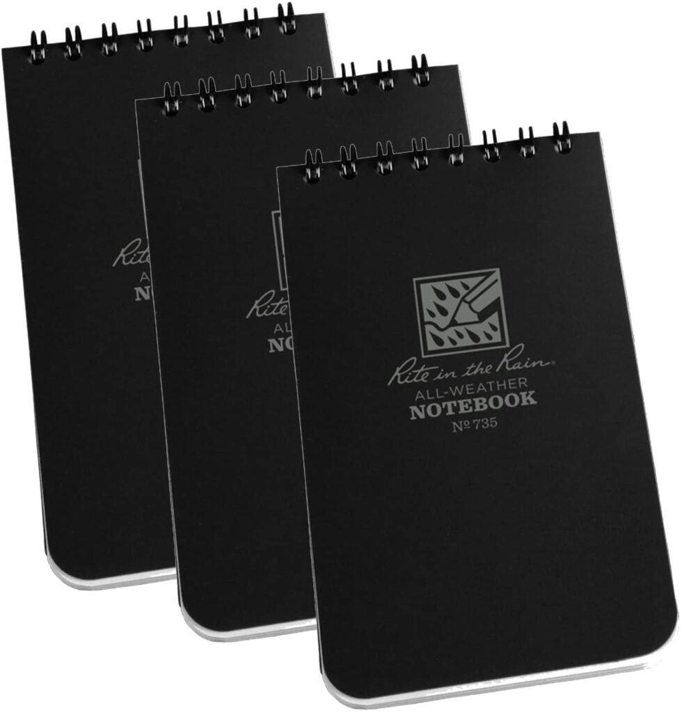 water proof notebook