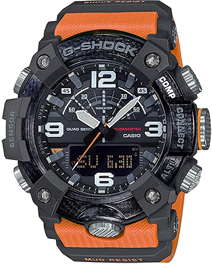 best orange G-Shock Mudmaster Watch