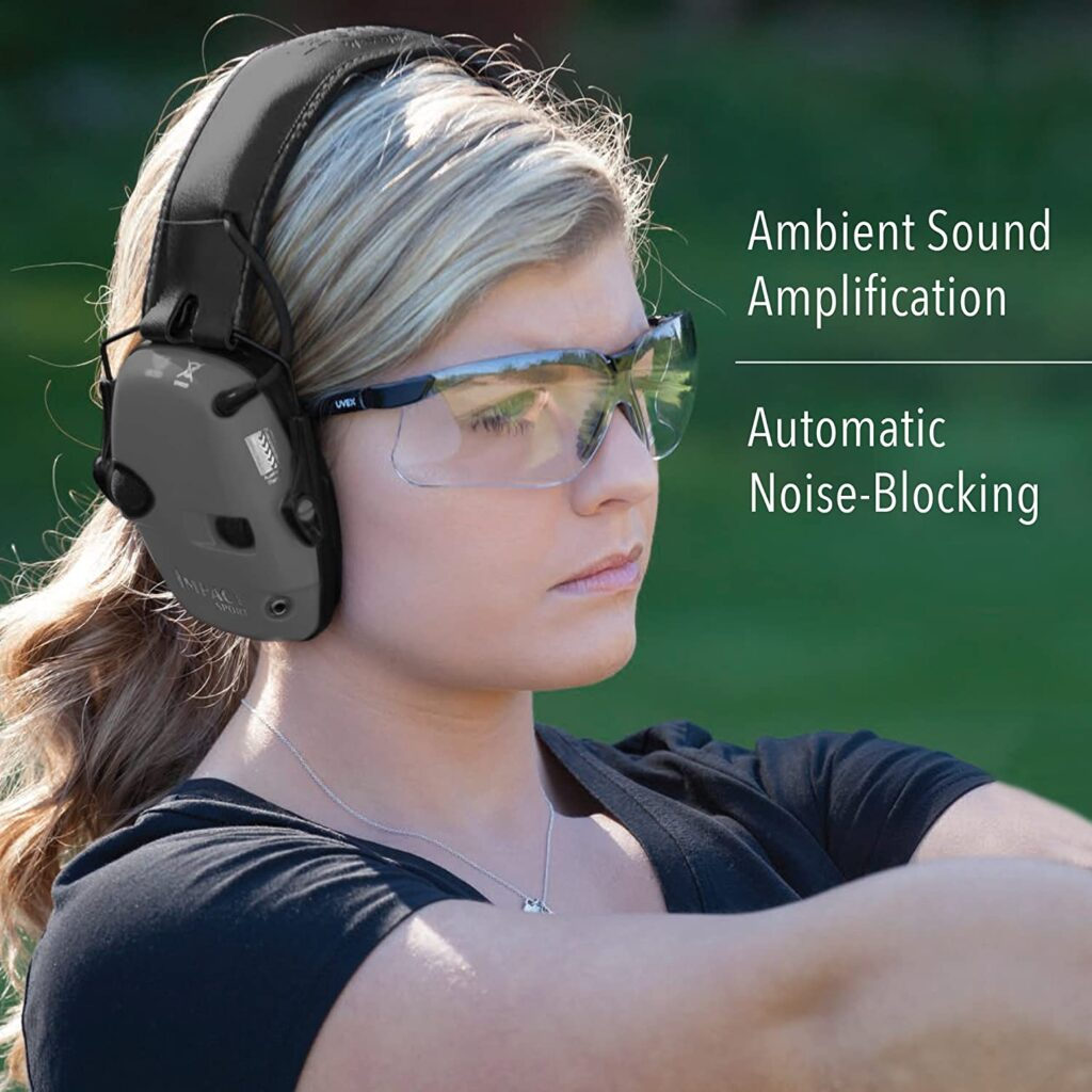 best noise cancellation ear muffs for shooting