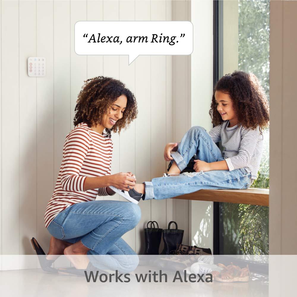 home alarm with Alexa