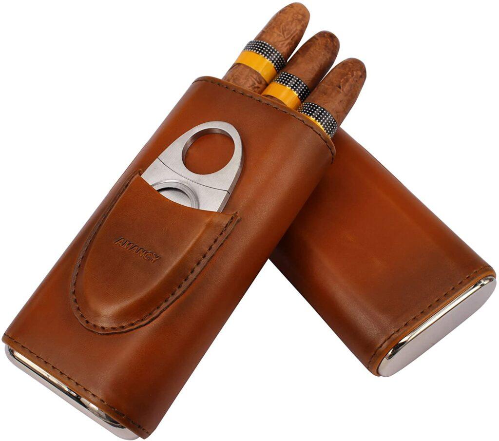 best 3 finger cigar cases