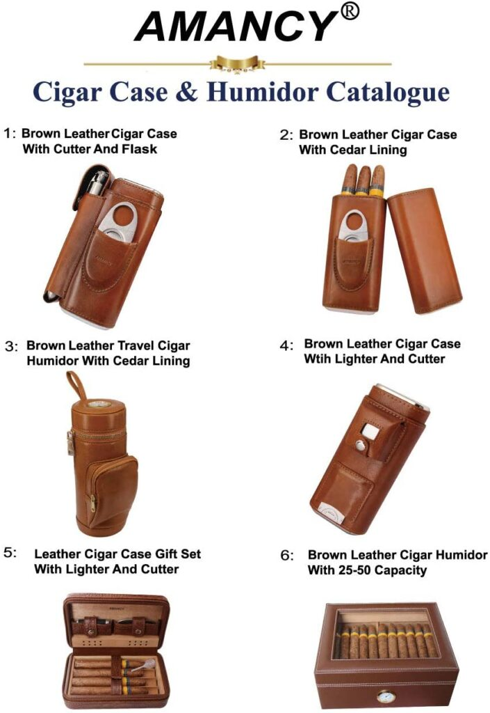 best leather cigar travel cases