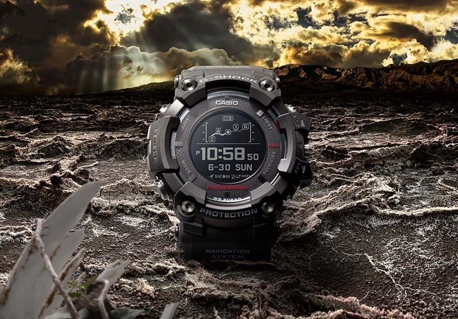 best g shock watches with GPS