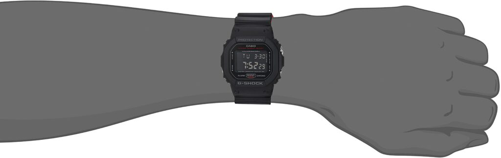 Square G-Shock GWM5610-1 with Tough Solar and Atomic Timekeeping