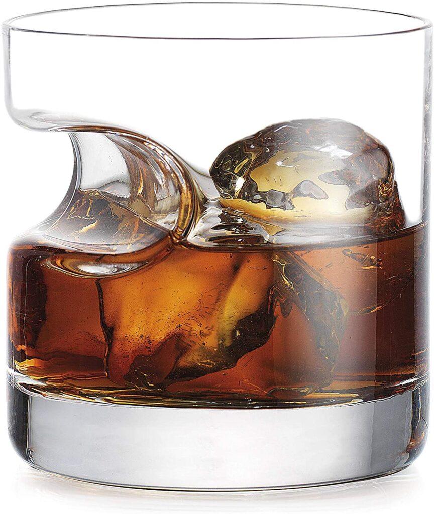 cigar holder whiskey glass