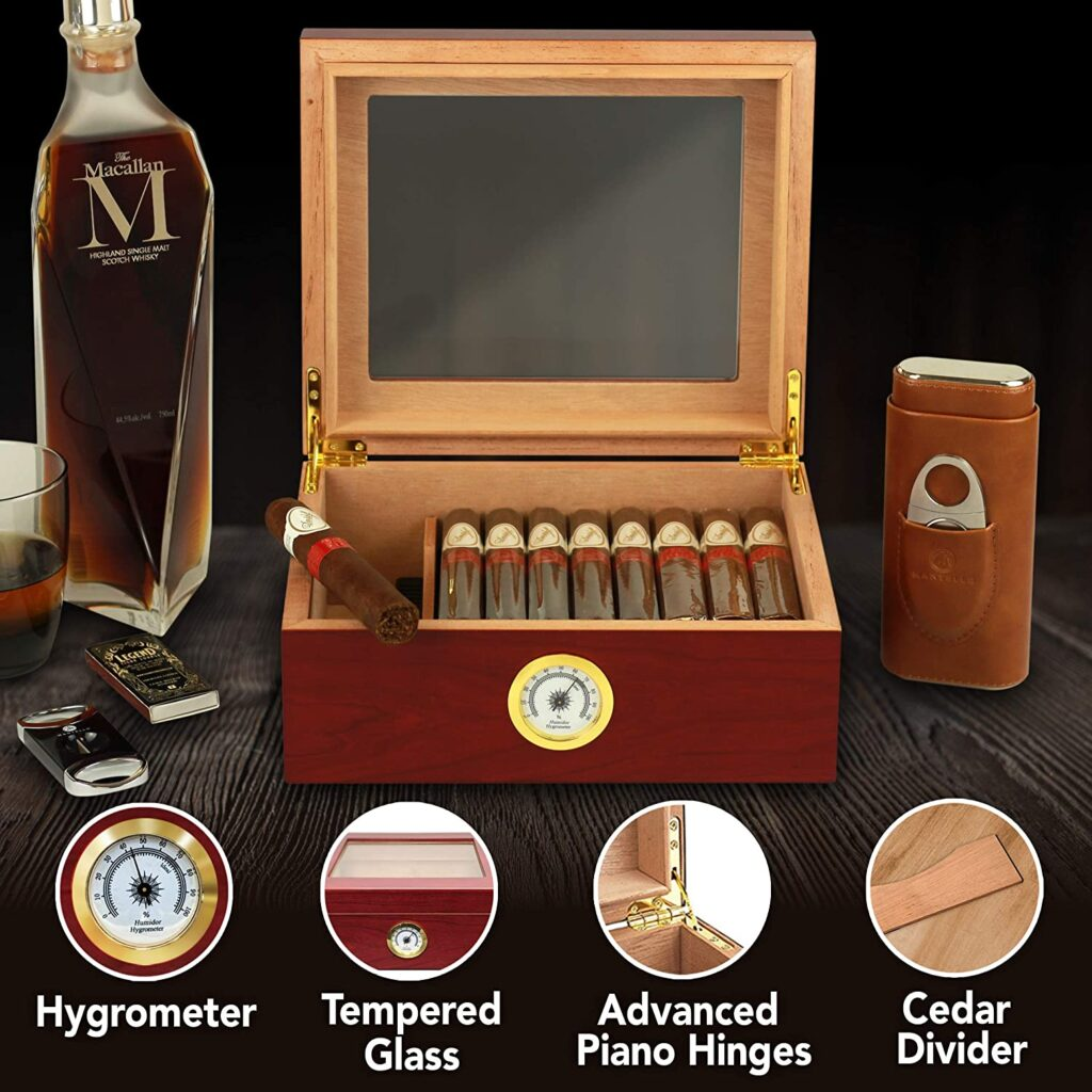best cigar humidor for office
