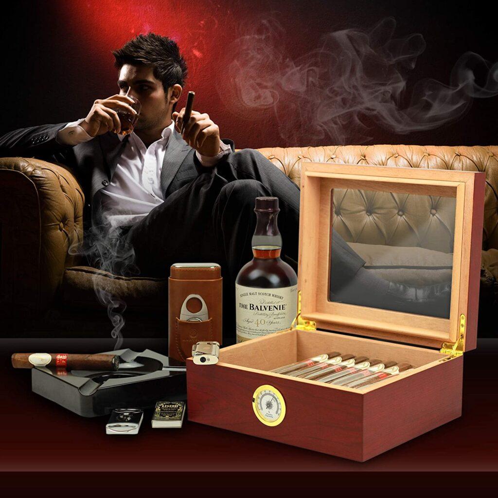 best table top cigar humidor