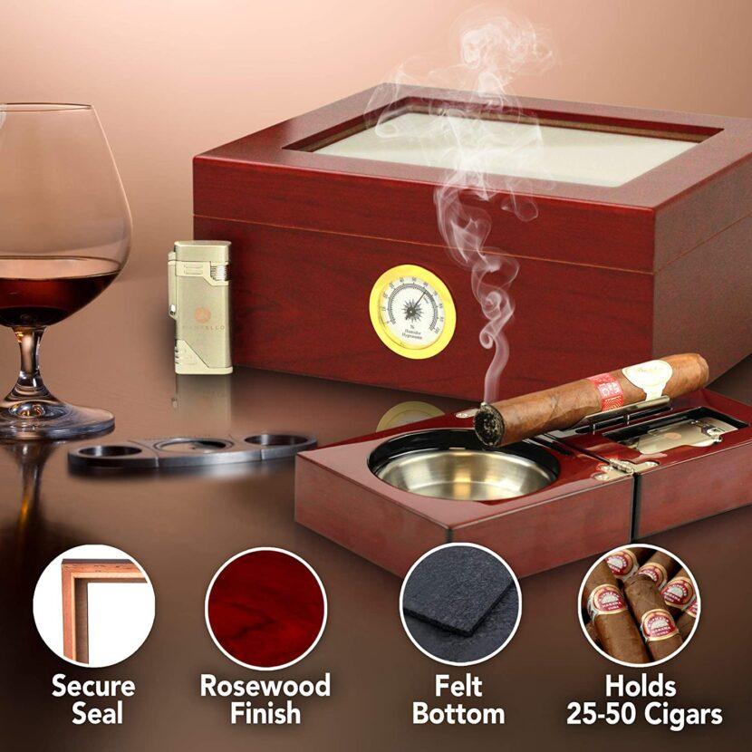 best small cigar humidor