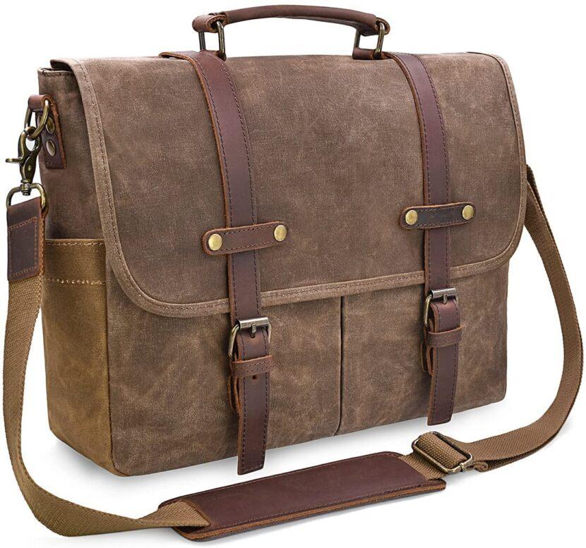 best leather messenger bag for teachers