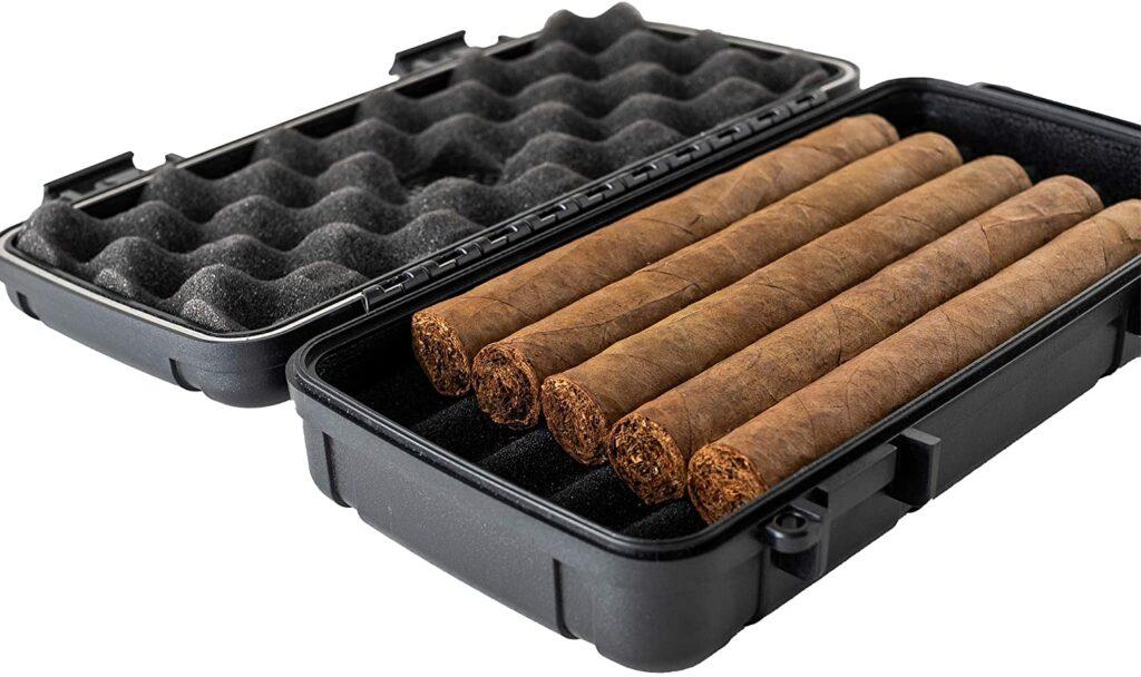 waterproof cigar case