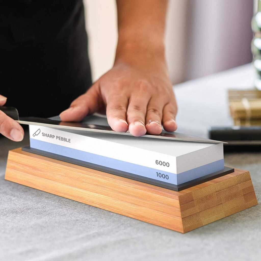 cheap knife sharpening stone that works