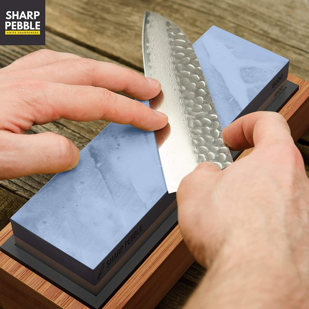 best knife sharpening stone for really dull knives