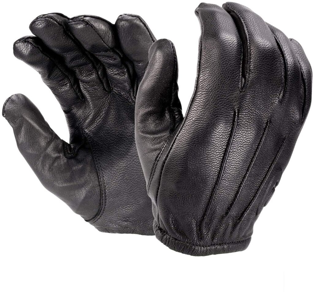 best leather police duty gloves with Kevlar