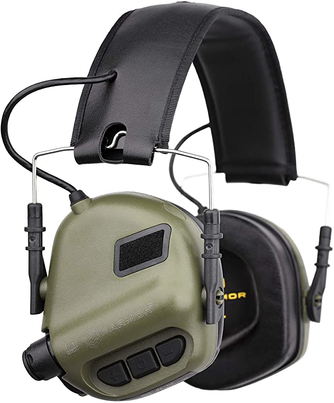 best electronic shooting muffs