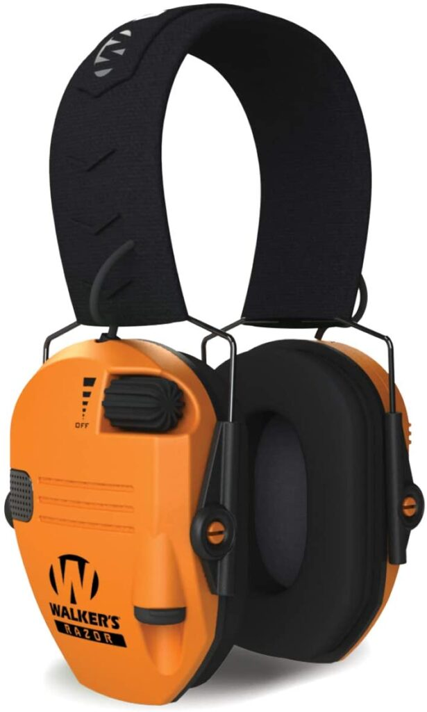 best slim electronic earmuffs for shooting