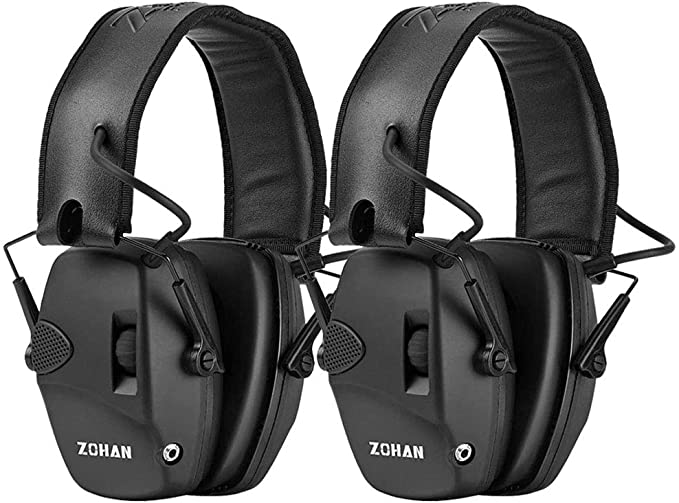 best noise reduction earmuffs for shooting