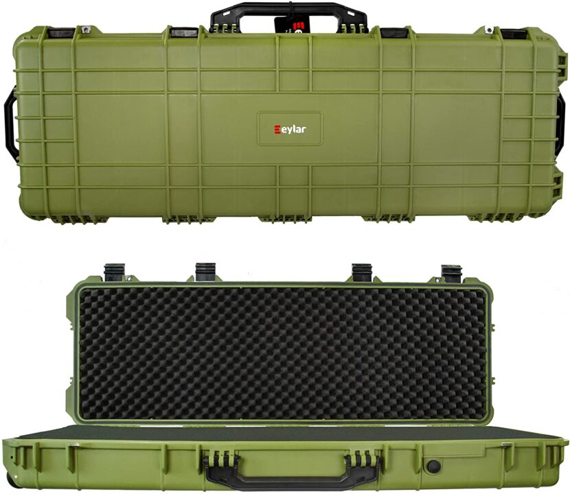 best hard rifle case with wheels