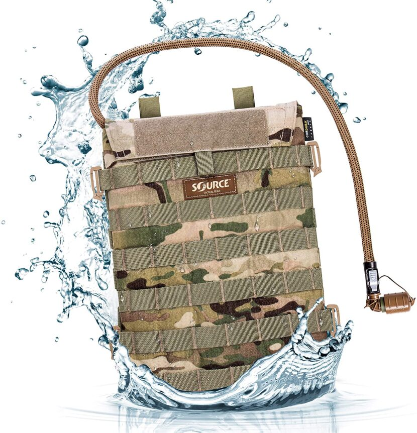 best tactical MOLLE hydration pack