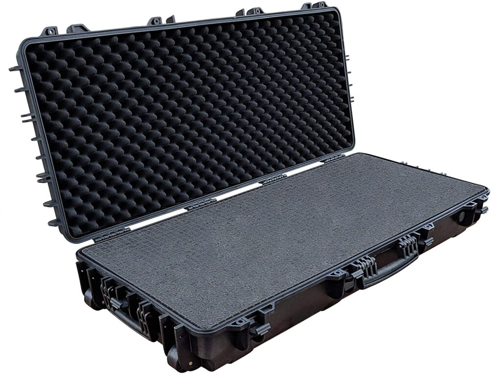 best hard bow case with foam