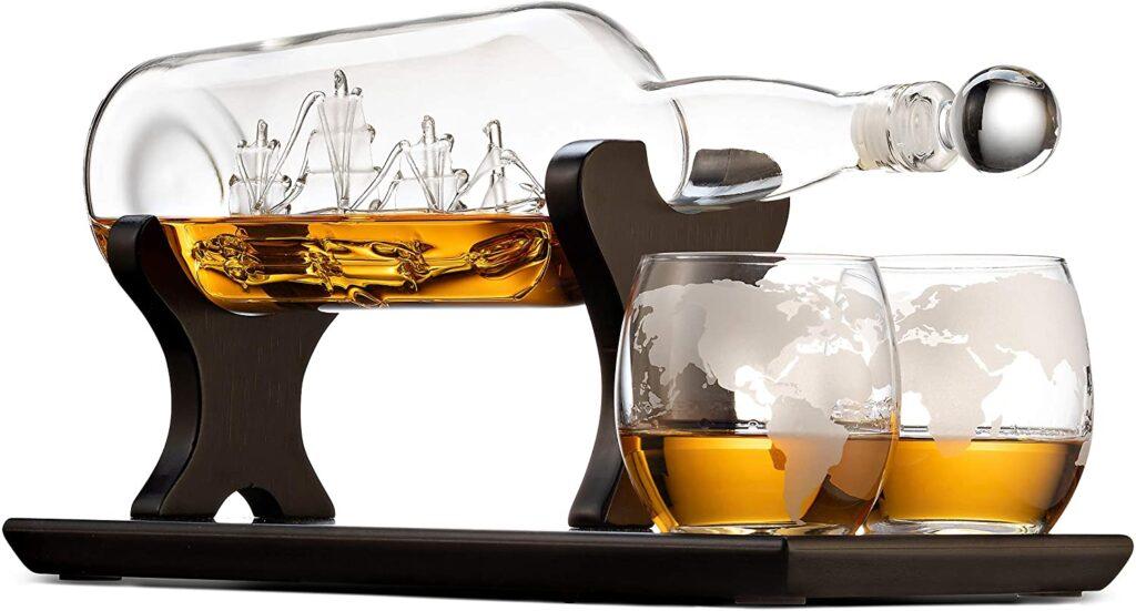 whiskey decanter ship