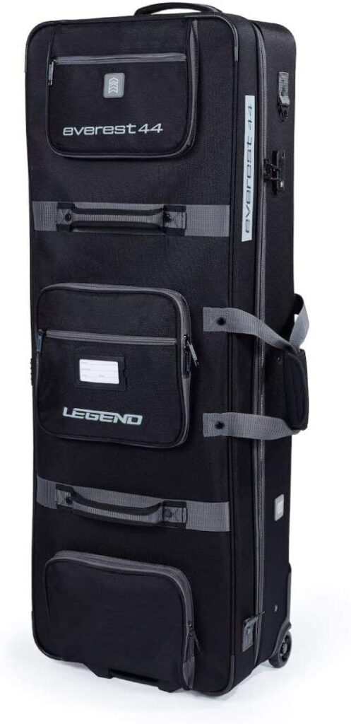compound bow case with wheels