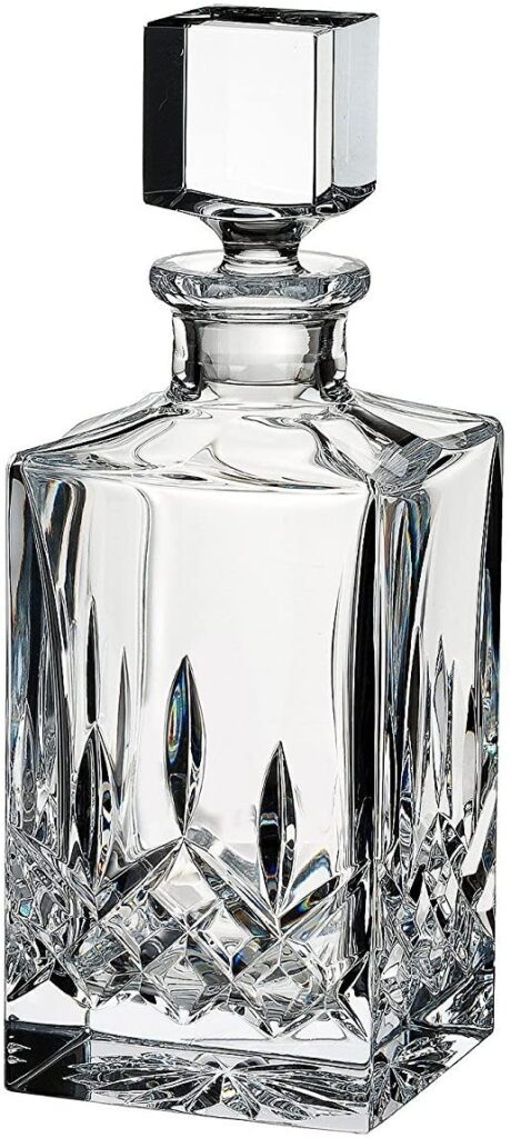 whiskey decanter Waterford